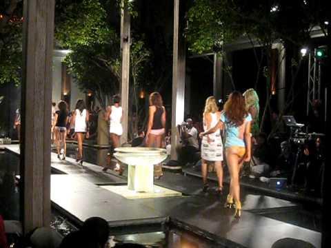 A*Muse Fashion Show at Funkshion Fashion Week with Pam Anderson Setai Hotel South Beach