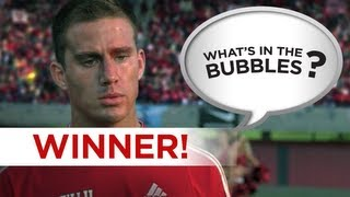 What's in the Bubbles Winner! - She's the Man - Can you do better? Go To WhatsInTheBubbles Channel