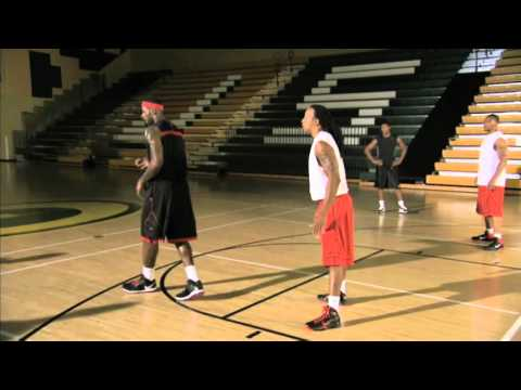 Between The Legs Hesitation Dribble - LeBron James