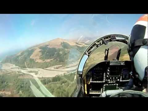 US Navy F/A-18 Hornet Low Level Training
