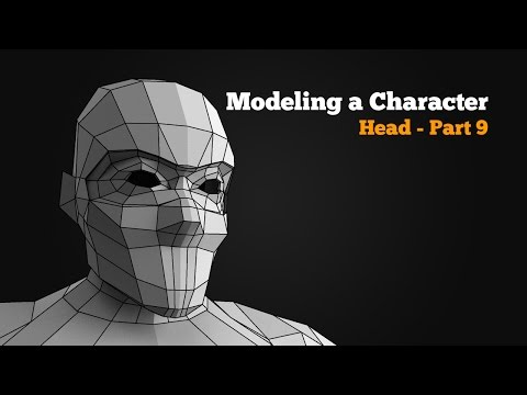 Modeling the Ninja - part 9 of 10