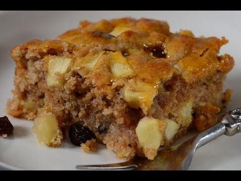 Apple Cake Recipe Demonstration - Joyofbaking.com