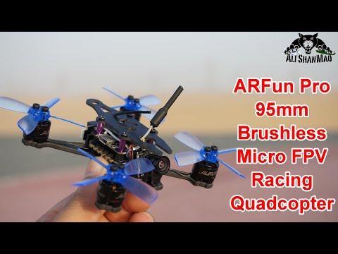 Ultra-Fast ARFun Pro 95mm Micro Brushless FPV Racing Drone - UCsFctXdFnbeoKpLefdEloEQ