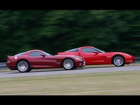 -08 Viper SRT10 vs. -07 Corvette Z06: Behind the Scenes - Car and Driver