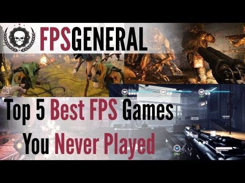Top 5: Best FPS Games You've Never Played