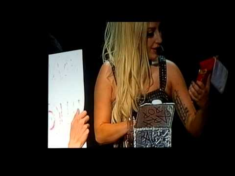 Lady GaGa and her 'Derp Face' Live, Cologne Germany 2012 HD
