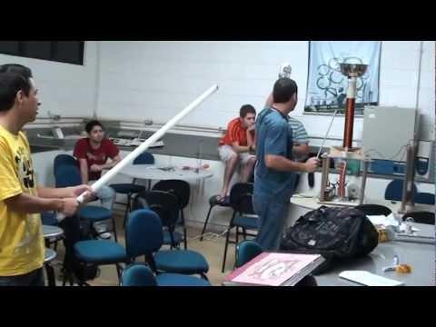 Experimento de Física III - Ciência da Computação - Bobina de Tesla