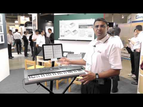 E Ink Booth Tour at FPD 2011