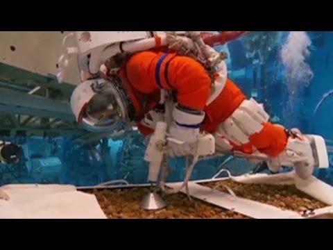 See (astronauts) practice landing on asteroid  5/13/14