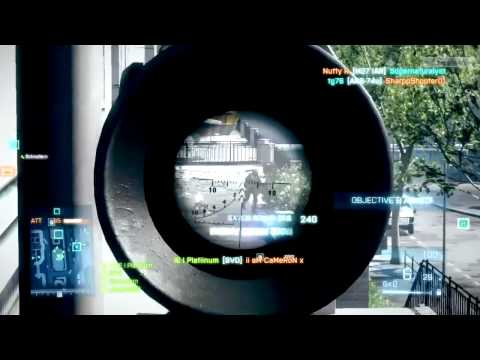 EPIC Battlefield 3 (BF3) Sniper Montage
