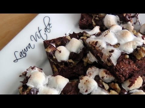 Rocky Road Brownie Bars - Recipe by Laura Vitale - Laura in the Kitchen Episode 183