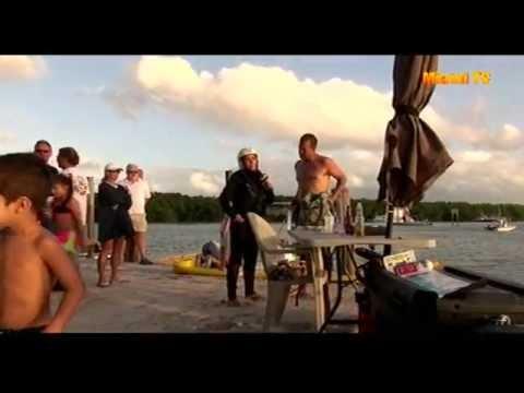 Jenny Scordamaglia - Gilberts Resort Key Largo tries Jet Surf Chicago