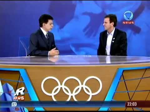 Eduardo Paes fala sobre os projetos do Rio de Janeiro para as Olimpíadas de 2016 (Record News)