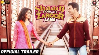 Shaadi Mein Zaroor Aana | Official Trailer | 10th November | Rajkummar Rao | Kriti Kharbanda