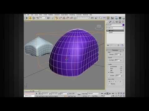 3ds Max Top Tips - Using the Melt Modifier