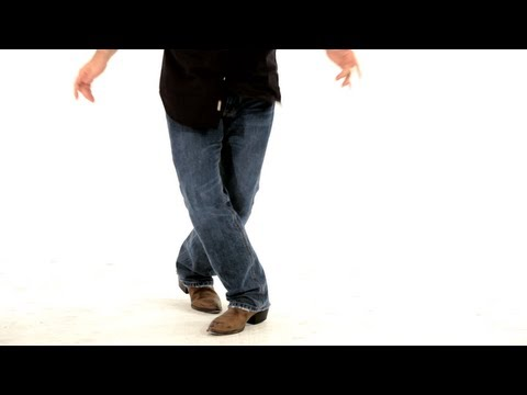 Basic Line Dancing Steps : Shorty George, Boogie Walks, and Scissor Steps