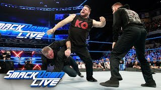 Kevin Owens & Sami Zayn brutally attack Shane McMahon: SmackDown LIVE, March 13, 2018