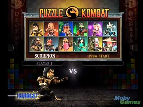 Mortal Kombat: Deception / Unchained (Soundtrack) - PUZZLE: Character Select