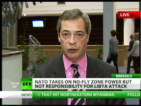 Nigel Farage: -Bombings, bailouts - what on earth are we doing?-
