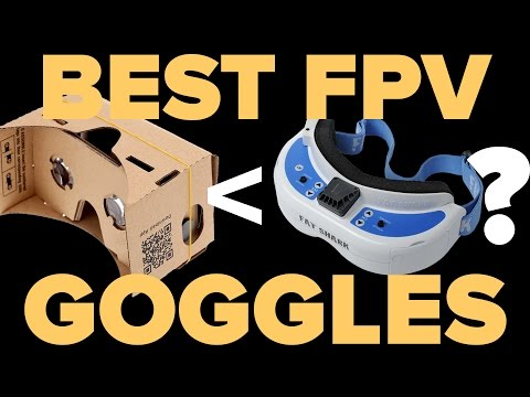THE 6 BEST FPV GOGGLES  for Drone Racing or Cinematography - UCJkqLBNHIDHztoMp6zSeEhw