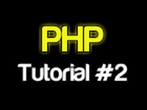 PHP Tutorial 2 - Installing XAMPP (PHP For Beginners)