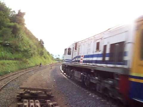 Kahuripan Train Passing Cirahayu Station