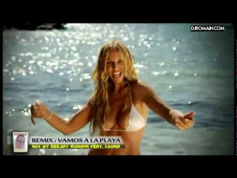 Loona - vamos a la playa  - remix version Electro 2011 by Deejay Romain
