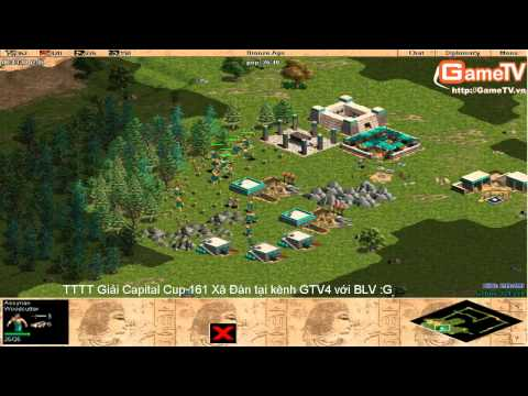 AOE | vòng 1/32 Capital cup 2014 G_Des vs BiBi 9/3/2014