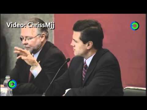 El desliz de Enrique Peña Nieto en la FIL 2011