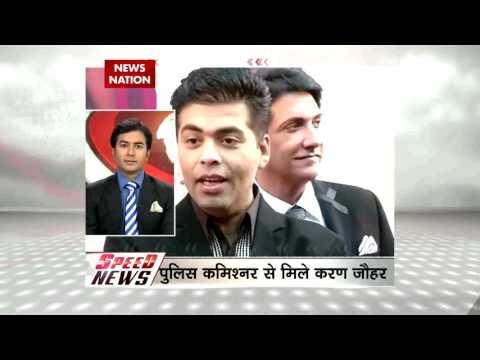 Director producer Karan Johar meets Mumbai Police commissioner