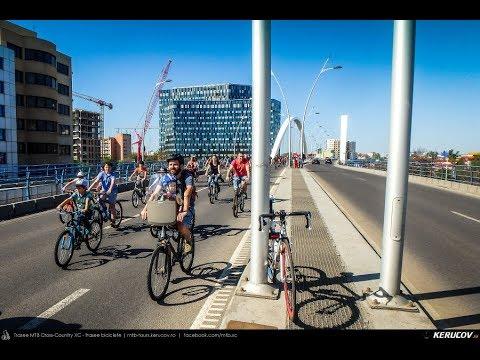 VIDEOCLIP Vrem un oras pentru oameni! - 1 - marsul biciclistilor, Bucuresti, 21 aprilie 2018 [VIDEO]