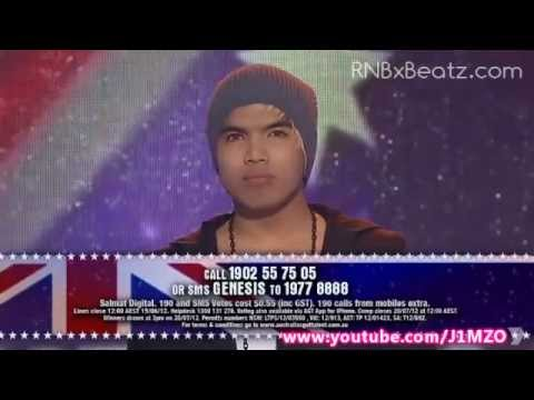 Genesis (Beatboxer) - Australia's Got Talent 2012 Semi Final! - FULL