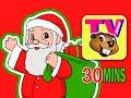 """Christmas Special"" 30 Mins   Santa Rudolph Frosty Jingle Bells + Carols   BBTV   Kids Nursery Songs"