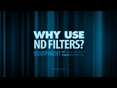 Why ND's?: DJI Phantom 3 Professional with PolarPro ND8 & ND16