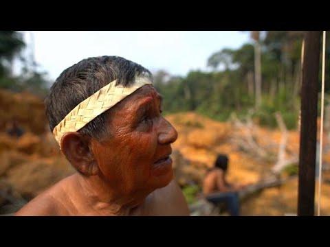 El dolor de las tribus del Amazonas: