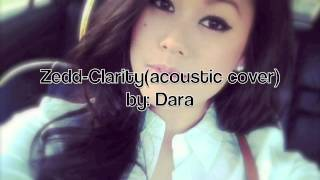 Zedd- clarity (acoustic cover)