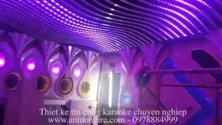 [AnTuongTre.Com]Thiết kế karaoke ấn tượng cảm biến theo nhạc