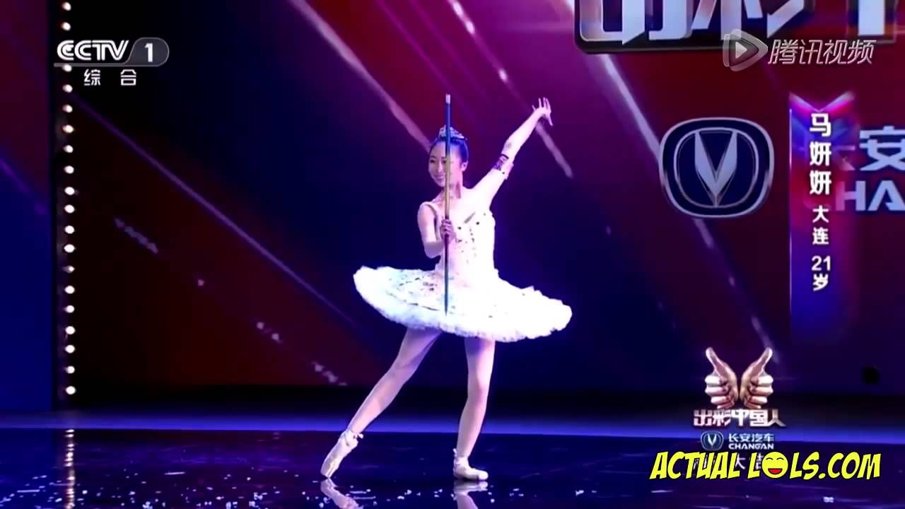 Ma Yan Yan - Ballet Dancing Magician on Amazing Chinese 2014