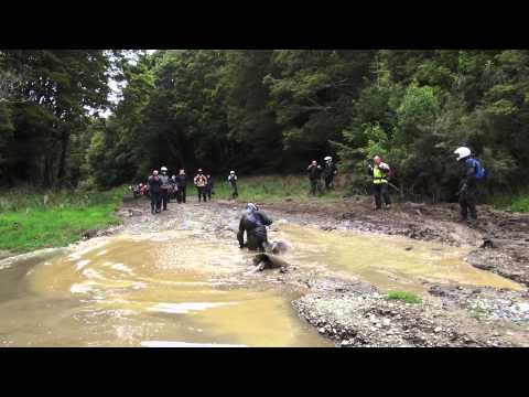 Dirt Bike crash - funny