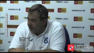 Super liga 2015/16: 2.Kolo: Izjave trenera nakon meča Mladost - Novi Pazar