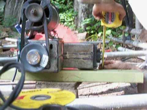 Lumber Mill from Scratch Part 6 Saw Mount and Fathers Day