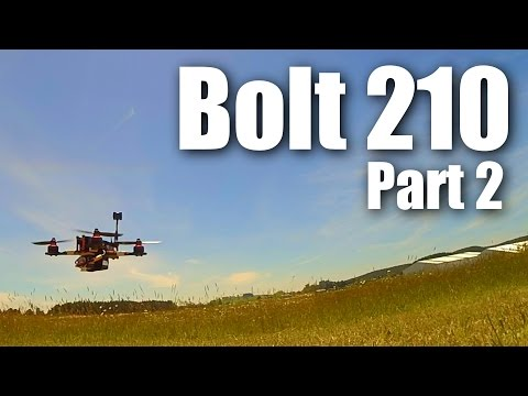 Crikey!! The Bolt 210 racing drone (miniquad) Part 2 - UCahqHsTaADV8MMmj2D5i1Vw