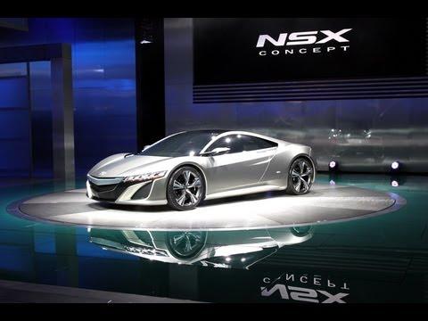 2013 Acura NSX Concept -- 2012 Detroit Auto Show