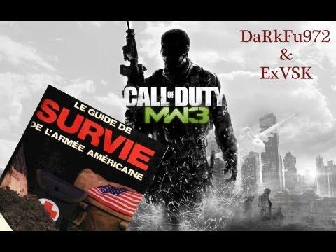 Call of duty Modern Warfare 3 - Mode survie avec ExVSK