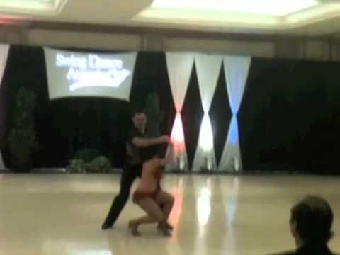 Billy Marti & Veronica Castilla - Latin Hustle Performance Swing Dance America 2011