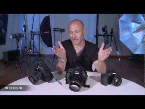 Karl Taylor compares the Canon 5DMK2 vs Canon 7D.