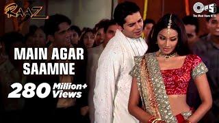 Main Agar Saamne Full Video - Raaz  Dino Moreo & Bipasha Basu  Abhijeet & Alka Yagnik
