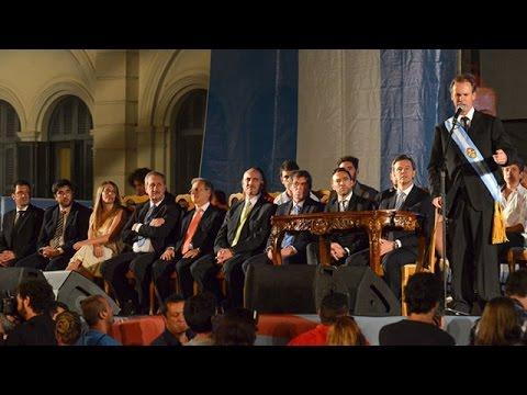 <b>Nuevo Gabinete.</b> Bordet le tomó juramento a sus ministros