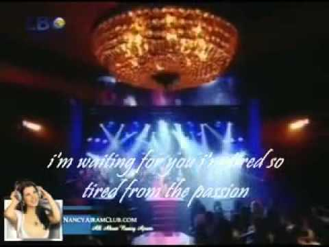 Nancy Ajram Mestaniyak Live in Ebtada el Meshwar part 1 EXCLUSIVE english LYRICS   YouTube