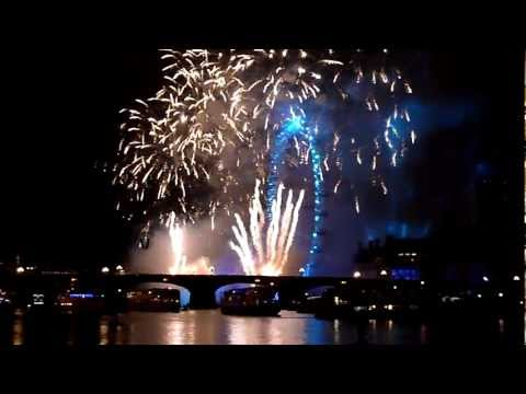 London Fireworks 2012 [HD] full 12-minute display